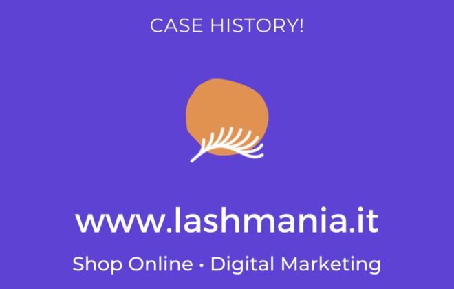 Lashmania.it Shop Online - Case History